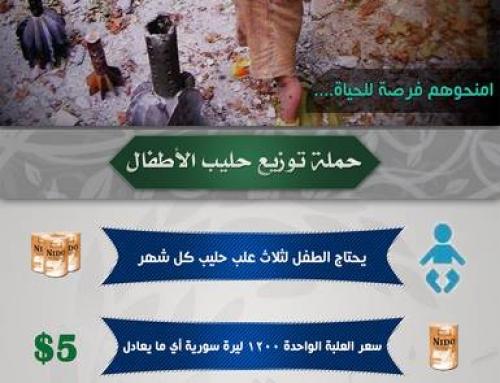 حملة حليب الأطفال